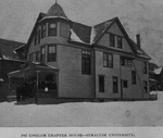 This is a picture of the *Original* Pi Chapter House before the house at 101 College Place was built!